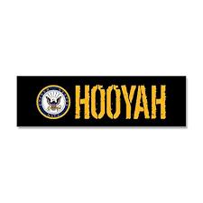 Amazon Com Cafepress U S Navy Hooyah Black Car
