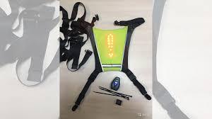 Жилет велосипедный+накидка на <b>рюкзак 2 в 1</b> диоды купить в ...