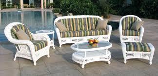 wicker patio furniture. Patio Wicker Furniture Outdoor White S Couch . G