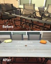 Patio Table Makeover Shattered Glass Redo  My Projects Redoing Outdoor Furniture