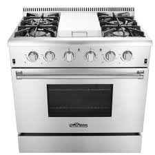 professional gas ranges for the home. Perfect Home 36 Inch Professional Gas Range With Griddle In Stainless Steel Intended Ranges For The Home E