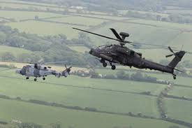 Wildcat Helicopter Works Alongside Apache