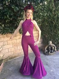 purple jumpsuit 128 80