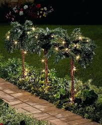 outdoor lighted palm tree lighted palm trees set of 3 small palm trees outdoor led lighted