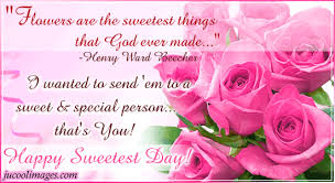 Happy Sweetest Day Facebook Graphics Comments Style