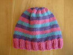 Easy Knit Hat Pattern Free Adorable Fiber Flux Free Knitting PatternSuper Pink Toddler Hat