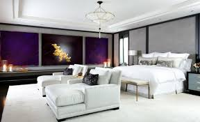 bedroom lounge furniture. View In Gallery Twin Chaise Lounge Chairs White Fill Up This Contemporary Bedroom Beautifully Furniture