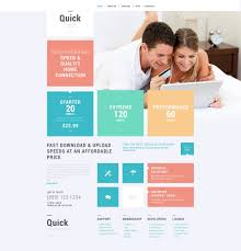 Internet Services Wordpress Theme 52550