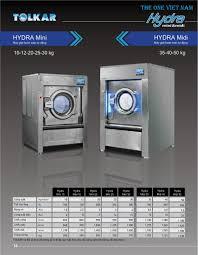 MÁY GIẶT CÔNG NGHIỆP HYDRA MINI 30 - Máy giặt công nghiệp Hydra Mini 30 có  công suất giặt vắt từ 300kg vải khô tới 720kg đồ vả… | Máy giặt, Công  nghiệp, Khách sạn