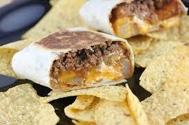 taco bell cheesy potato burrito. Copycat Cheesy Potato Burrito In Taco Bell