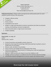 Resume Cashier Example Best of How To Write A Perfect Cashier Resume Examples Included Experienced