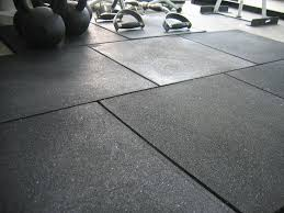 in general gym floorings are made of rubber so that the athletes have a specific