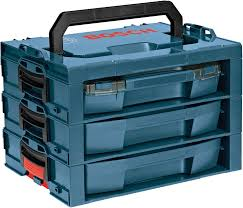 bosch tools box. l-rack organizational shelf system with drawers and carry handle bosch tools box s