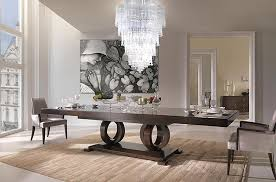 italian furniture designs. Dining Room Interior Design With Vendrome Italian Furniture Collection By Selva Designs