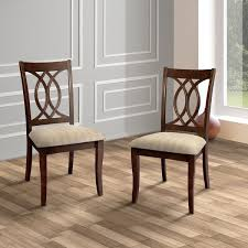 brown dining chairs. Furniture Of America Cerille Elegant Brown Cherry Dining Chairs (Set 2) - 20 N