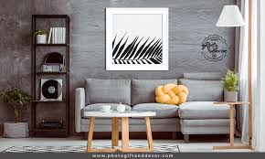 black and white nature wall art photo