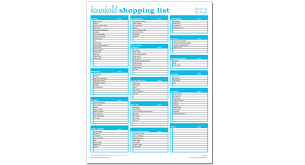 Grocery Shopping List Excel Template Savvy Spreadsheets 70511400857