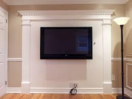 Beautiful White Brown Wood Glass Modern Design Furniture Flat