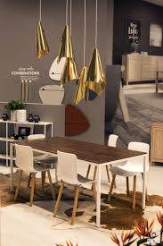 terrific decorating ideas wooden dining table with pendant lights over dining table india large size