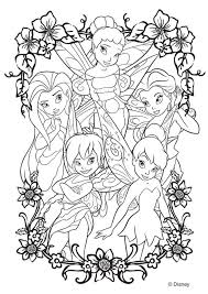 Kleurplaat Disney Fairies Afb 20746 Images