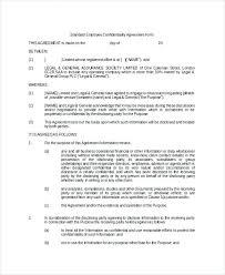 Simple Nda Template Free Example Agreement Sample Mutual Non Disclosure Free Basic Template