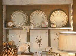 french country kitchen wall decor plates