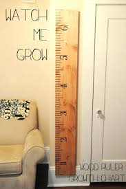 Growth Chart Wall Decal Ruler