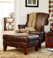 Superb Reading Chair With Ottoman ... Cool Leather Reading Chair And Ottoman Fancy  Leather Reading