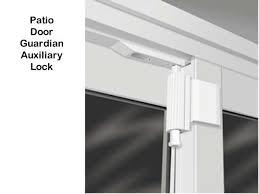 photos of foot lock for sliding glass door