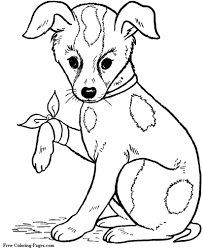Free coloring pages to download and print. Coloring Pages Of Dogs