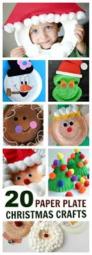Best Out Of Waste A Beautiful Wall Piece Using A Paper Plate Christmas Crafts Using Paper Plates