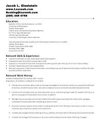 Resume Set Up Amazing Resume For Internship Of Mba