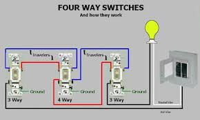 four way switches how they work at light switch wiring 4 way