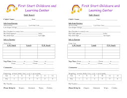 baby daily report sheet daycare infant daily report template and baby log forms google