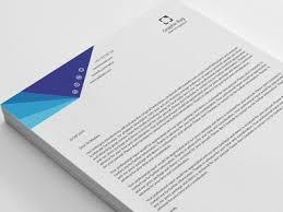 Letterhead Letter 20 Modern Business Letterhead By Shuja Dribbble Dribbble