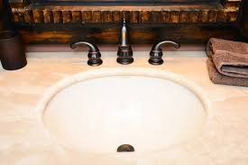 Marble Bathroom Sink Countertop Bathroom Countertop Options Abound Angies List