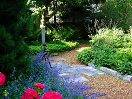 garden paths and stepping stones. subtle curves garden paths and stepping stones