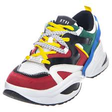 Womens Fay Bright / Multicolor Shoes