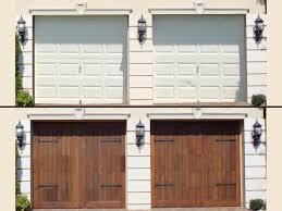 Garage Door Skins Wood Look - Pilotproject.org