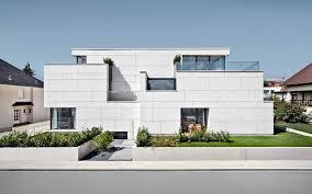 EQUITONE Facade Materials Apartment Building Of  Units In - Modern apartment building facade