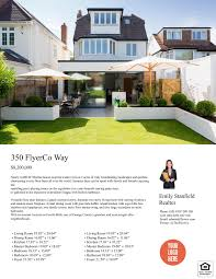 pin by theflyerco on flyerco real estate flyers