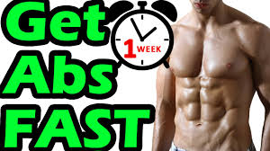 How To Get Abs In 1 Week At Home Fast You Wont Like Hearing This
