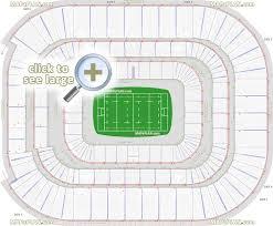 Cardiff Millennium Stadium Seat Numbers Detailed Seating