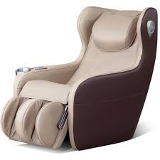 iComfort IC2000 <b>Massage Recliner</b> - <b>Faux Leather</b> - Beige/<b>Brown</b> ...