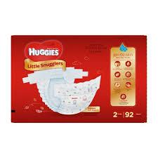 Little Snugglers Size Chart Huggies Little Snugglers Diapers Giga Pack