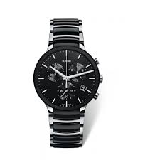 buy a rado watch online fraser hart rado centrix xl men s chronograph black ceramic bracelet watch