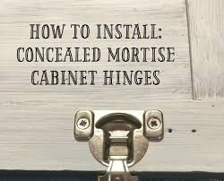 cabinet hinges installed. How To Install Concealed Hinges On Cabinet Doors Cabinet Hinges Installed C