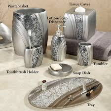crystal bathroom accessories. Popular Interior Trend With Additional Black Acrylic Crystal Plastic Pc Rhinestone Bathroom Accessories