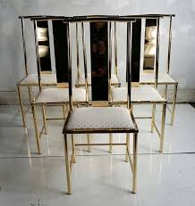 asian modern furniture. set of six asian modern brass dining chairs by mastercraft 2 furniture n