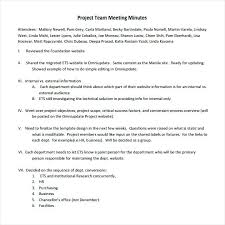 Project Meeting Minutes Template Status Review Sample – Thesoundmind
